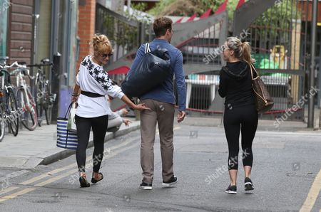 Editorial photo of 'Strictly Come Dancing' TV show rehearsals, London, Britain - 19 Aug 2015