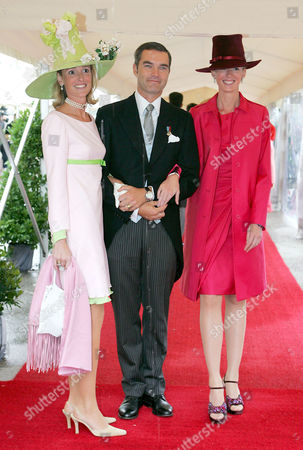 Editorial image of WEDDING OF DUCHESS ELISABETH OF BAYERN TO DR DANIEL TREBERGER, TEGERNESEE, GERMANY -  25 SEP 2004