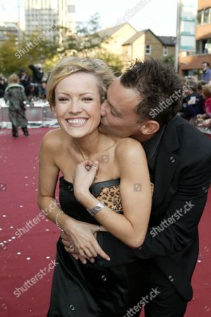 Hayley Evetts and Toby Anstis