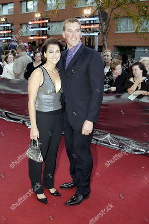 Matthew Pinsent and Demetra Koutsoukos