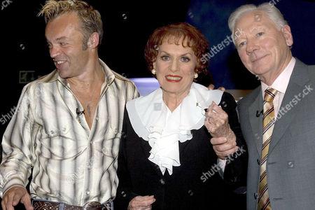 Stock Image of Graham Norton, Maureen O'Hara and Gay Byrne