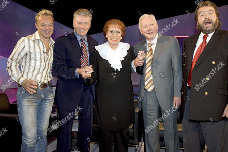 Graham Norton, Pat Kenny, Maureen O'Hara, Gay Byrne and Brendan Grace