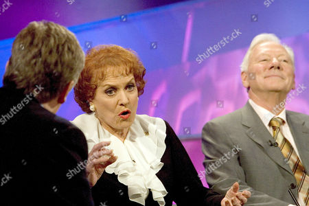 Maureen O'Hara and Gay Byrne