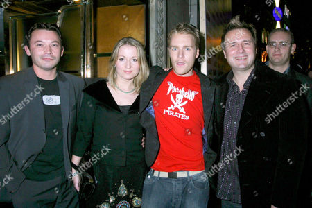 SAM BARRISCALE WITH CAROL STARKS, ALEX HARDY AND GARY WEBSTER