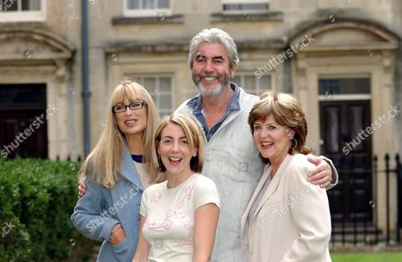 Carol Royle, Kate Alderton, John Alderton and Pauline Collins at Bath Theatre Royal