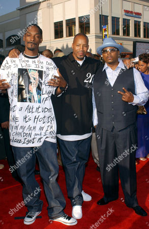 Stock Photo of 213 - Snoop Dogg, Warren G and Nate Dogg