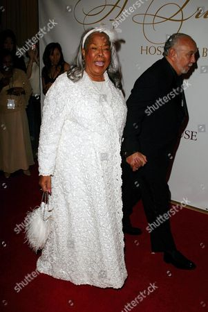 Stock Image of Della Reese and Franklin Lett Jr