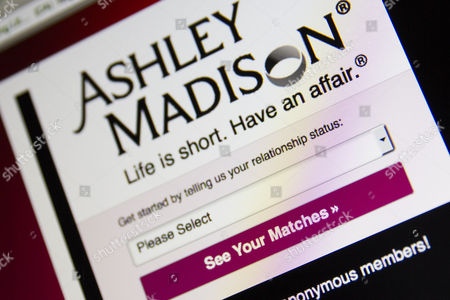 A detail of the Ashley Madison website