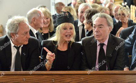 Rob Boyd, Patti Boyd and Sir Andrew Lloyd Webber