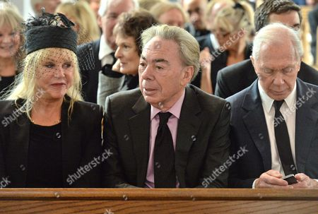 Stock Picture of Patti Boyd and Sir Andrew Lloyd Webber