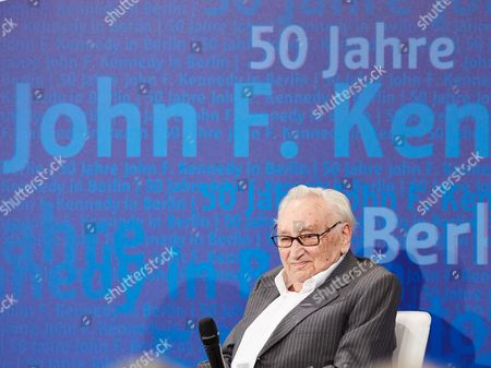 Editorial image of 50th Anniversary of John F. Kennedy Speech 'Ich Bin Ein Berliner' at the Schoeneberg Town Hall in Berlin, Germany - 26 Jun 2013