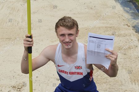 """16 year old Sam Talbot who gained 9 A*  and 2 'A""""s at Caterham School, Surrey, despite heading off between exams to Tenerife to compete in his sport the Decathlon representing Great Britain"""
