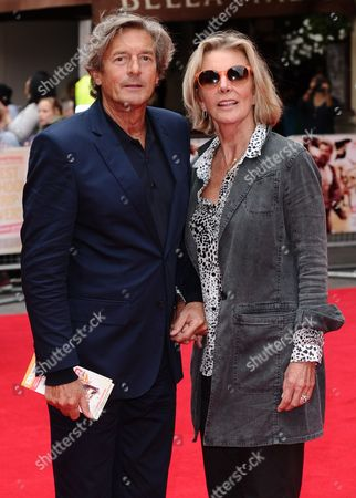 Stock Picture of Nigel Havers and Rita Webb