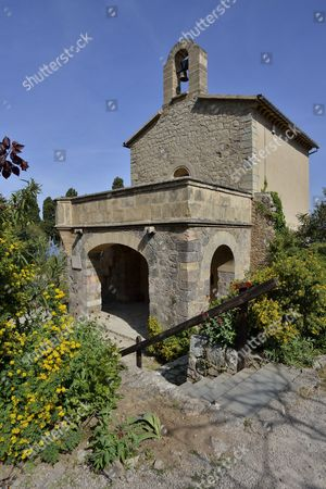 Chapel of the Son Miramar estate, the former residence of Ludwig Salvator 1847-1915, Archduke of Austria and Prince of Tuscany, in Deia, Majorca, Balearic Islands, Spain
