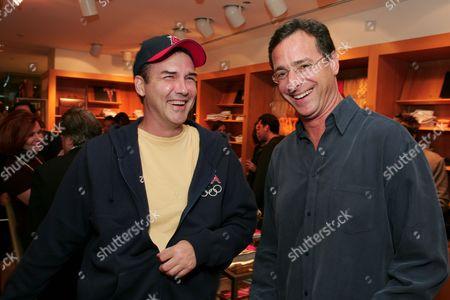 Norm Macdonald and Bob Saget