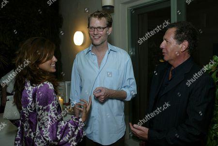 Eva Mendes, Craig Kilborn and Garry Shandling