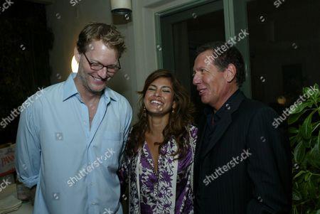 Craig Kilborn, Eva Mendes and Garry Shandling