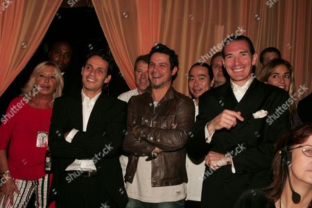 Marc Anthony, Alejandro Sanz and Alex Yemenidjian