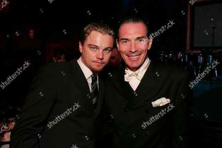 Leonardo DiCaprio and Alex Yemenidjian