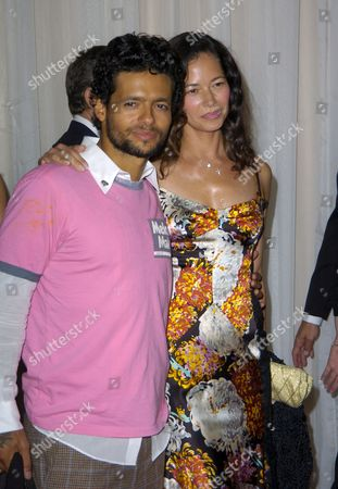 Robi Draco Rosa and Wife