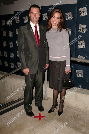 Harry Hamlin and Jennifer Grant