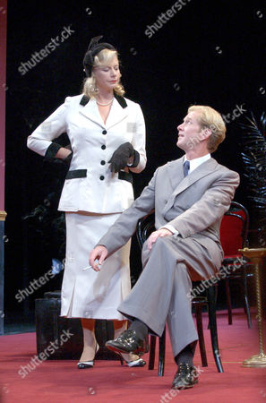Stock Picture of James Wilby (as Don Juan) & Felicity Dean (as Donna Elvira)