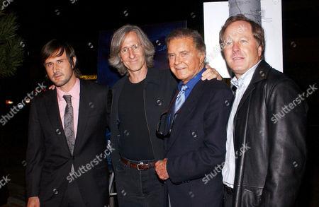 David Arquette, Mick Garris, Cliff Robertson and film producer