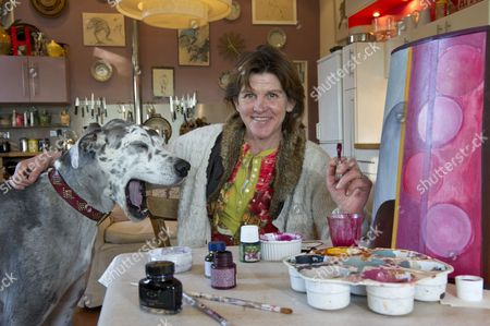 Editorial image of Helena Barrowcliff at Home, Dorset, Britain - 18 Jan 2011