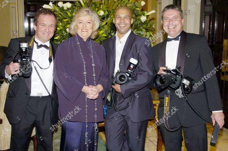 BMI President Emeritus Francis Preston with photographers inc Brian Rasic
