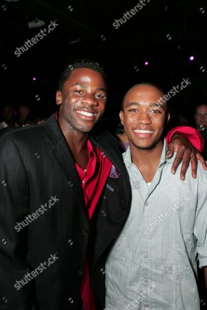 Derek Luke and Lee Thompson Young