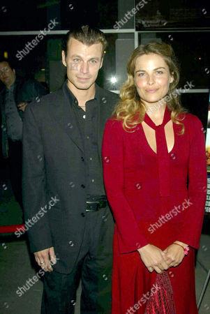 Peter Franzen and wife Irina Bjorklund