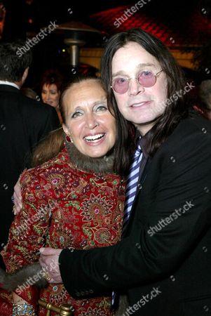 Danielle Steel and Ozzy Osbourne