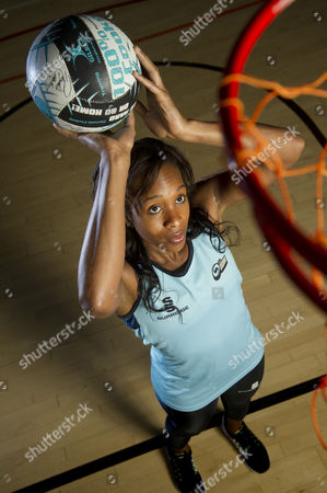 Netball player, Pamela Cookey