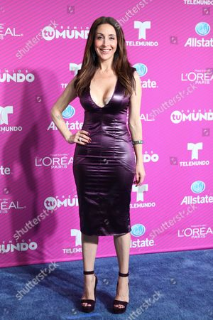 Editorial photo of Premio Tu Mundo awards, The American Airlines Arena, Miami, Florida, America - 20 Aug 2015