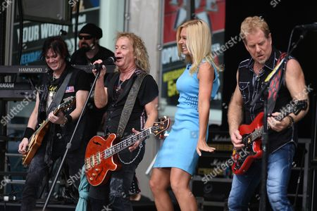 Editorial image of 'Fox & Friends' All-American Summer concert series, New York, America - 21 Aug 2015