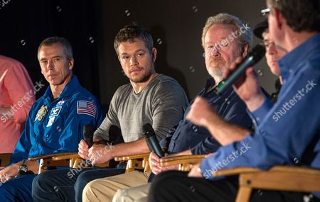 Editorial picture of Matt Damon press conference at the Jet Propulsion Laboratory in Pasadena, America - 18 Aug 2015