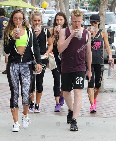 Tana Ramsay, Matilda Ramsay, Megan Ramsay, Holly Ramsay and Jack Ramsay
