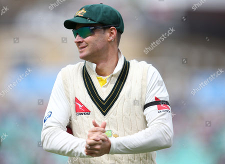 Australia captain Michael Clarke during the Investec Ashes match between England and Australia played at The Kia Oval, London