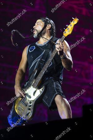 Editorial photo of Metallica in concert in Gothenburg, Sweden - 22 Aug 2015