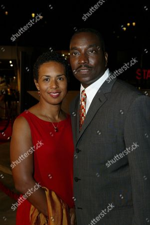 Clifton Powell and wife Kim