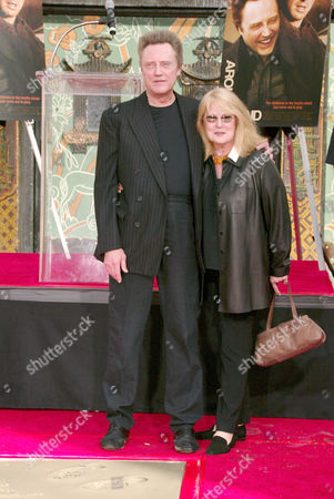 Christopher Walken and Georgianne Walken