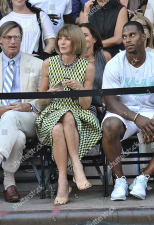 Stock Photo of Shelby Bryan, Anna Wintour
