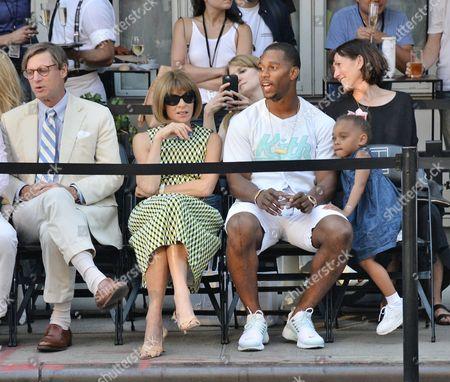 Editorial image of Nike Street Tennis event, New York, America - 24 Aug 2015