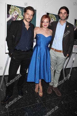 Kentucker Audley, Elisabeth Moss and director Alex Ross Perry