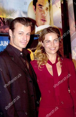 IRINA BJORKLUND AND HUSBAND PETER FRANZEN