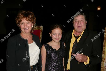 SanDee Pitnick, Danielle Lewis and Jerry Lewis