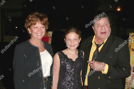 SanDee Pitnick, daughter Daniele and Jerry Lewis