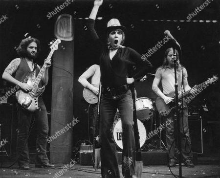 Stock Image of John Belushi, (left), Alice Playten, National Lampoon's Lemmings, Village Gate, New York, 1971