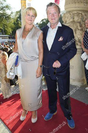 Krister Henriksson and Cecilia Nilsson