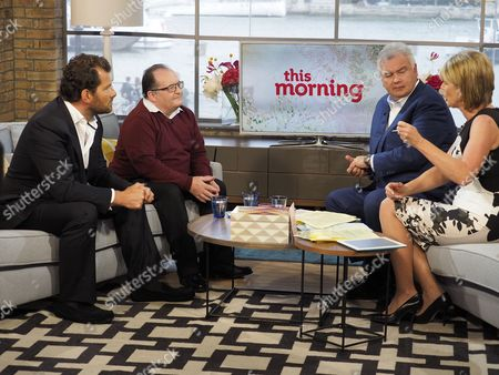 Ed Baines and Dave Turnbull with Eamonn Holmes and Ruth Langsford